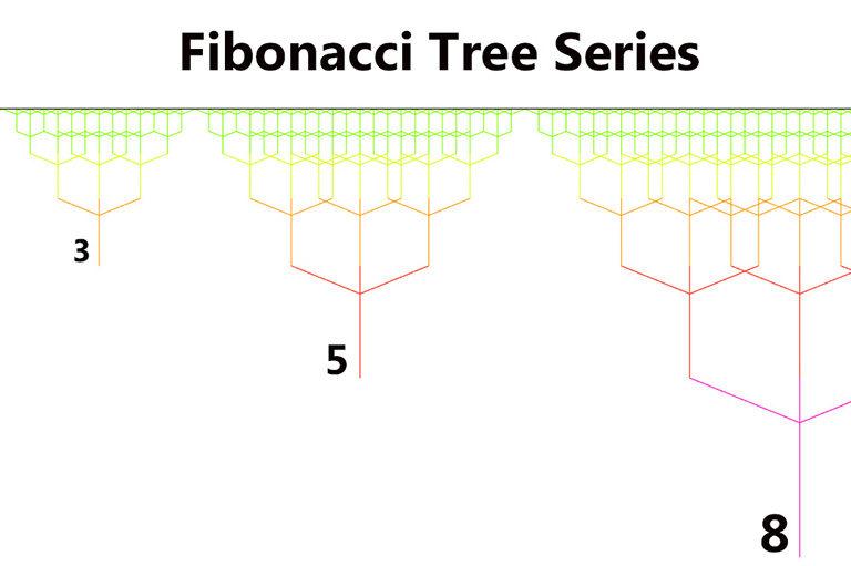 fibonacci tree front text